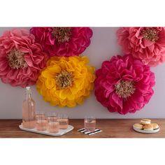Martha Stewart Crafts - Pom Pom Kit - Poppy Flowers at Scrapbook.com