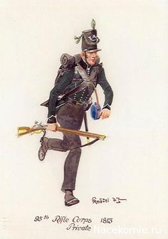 BRITISH ARMY - Private, 95th Rifle Corps,1813
