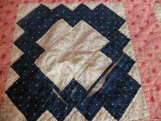 Vintage Cotton Antique Calico Hand Stitched Quilt   eBay