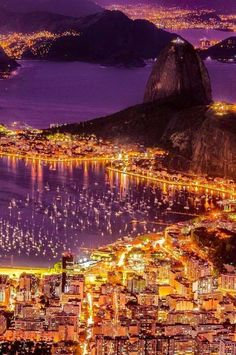 Yes, Rio. Botafogo and Sugarloaf Mountain,Rio de Janeiro, Brazil Wonderful Places, Great Places, Places To See, Beautiful Places, Places Around The World, Travel Around The World, Around The Worlds, Dream Vacations, Wonders Of The World
