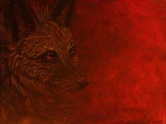 Silver Fox by Plaguedog.deviantart.com on @DeviantArt