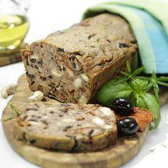Glutenfreies mediterranes Brot - Rezepte von Alnavit