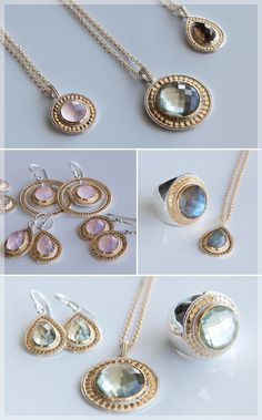 I am truly obsessed with Anna Beck Jewelry...
