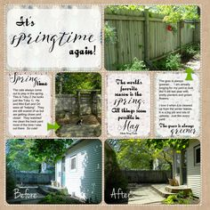 Spring Time Project Life Pages :http://michellejdesigns.com/spring-time-project-life-pages/