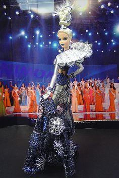 OOAK Barbie NiniMomo's Miss Alaska 2007 - Most exotic