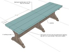 Simply Breathtaking 20$ DIY Farmhouse Bench Tutorial That You Will Want to Start Right Away-homesthetics.net (5)