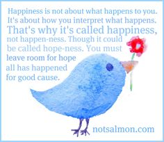 Happiness Happens - Karen Salmansohn