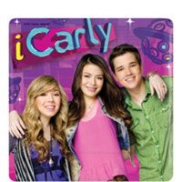 The gang is here to help you celebrate your birthday in iCarly style! Each of the 7 inch iCarly Square Paper Dessert Plates feature Carly, Sam, and Freddy on an out of this world purple and pink background. Miranda Cosgrove, Icarly, Jerry Trainor, Nathan Kress, The Thundermans, Girl Birthday Themes, Popular Movies, Girl Crushes, Disney Channel