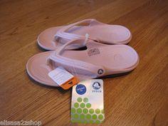 Mens womens crocs duet cotton candy M 7 W 9 flip flops thongs sandals relaxed