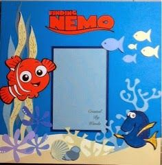 Nemo using cricut design space and Disney's Best of Pixar cartridge