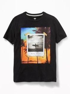 Online shopping for Men Clothing with free worldwide shipping - Graphic Shirts - Ideas of Graphic Shirts - Graphic Crew-Neck Tee for Boys Buy trending men clothing from our store and get up Beach T Shirts, Boys T Shirts, Tee Shirts, Tee Shirt Designs, Tee Design, Custom T Shirt Printing, Printed Shirts, Men's Fashion, Graphic Shirts