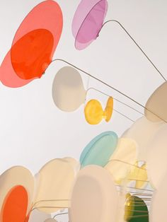 Eyoi yoi lamp (detail) designed by Marc Pascal| butterflies are surrounding the light as if they're flocking to it… polycarbonate, stainless steel, polyurethane resin, silicone, plaster (pendant, table lamps and floor stands) via Mitsubai Tokyo