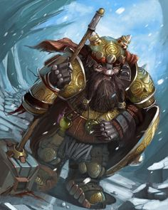 Tired Dwarf by ~GansOne89 on deviantART