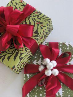 Christmas gift-wrapping