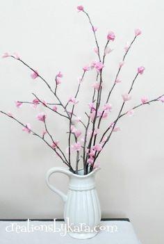 diy cherry blossoms 018 — Creations by Kara