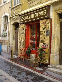 La chocolatière du Panier.  Marseille, France
