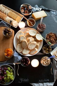 how to: host a wine & cheese party {wine glass writer}