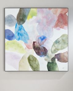 HB8GD John-Richard Collection Teng Fei's Color Wash Oil Painting