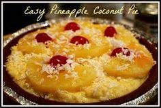 easy coconut pie - Bing images