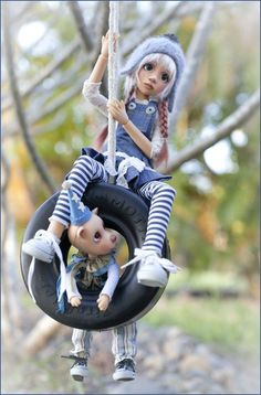 Liz+frost+art+dolls | Maddison and Ted (Liz Frost)
