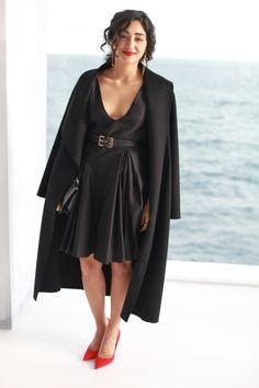 Golshifteh Farahani Dior Cruise 2014 Mone Carlo backstage