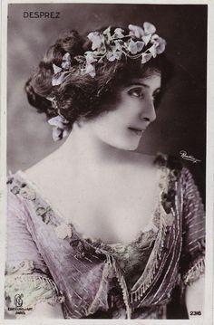Edwardian Stage Actress Renee Desprez by Reutlinger Original French Postcard | eBay