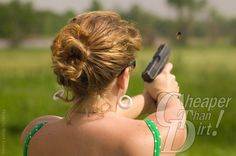 Do you need help with flinching? I sure do! It's a common problem and nothing to be ashamed of. Click the pic to see what helped me. #womenshooters #womenandguns #girlsandguns