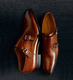 The Magnani double monk in tobacco, just magnificent.