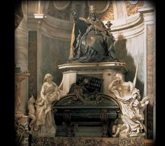 Tumba de Urbano VIII por Bernini