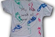 Footprint T-Shirt Craft