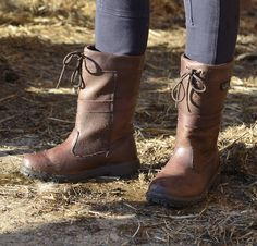 Hornbeam, full grain leather waterproof short leg country boot. Available in sizes 3-12. Priced at £114.95