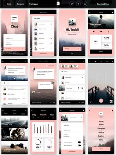 Chat A beautifully minimal UI kit. Yours free.
