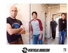 Vertical Horizon, official photo from Go. My Favorite Music, Favorite Things, Vertical Horizon, Rock Sound, One Wave, Alternative Music, Composers, Pop Rocks, Britney Spears