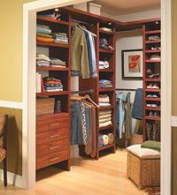 Java Real Wood Closet Organization Kit Allen Roth