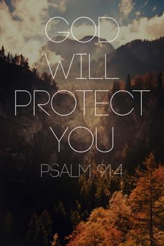He will cover you with his feathers. He will shelter you with...