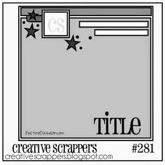 Creative Scrappers: CS Sketch 281 | Reveal