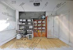 Room illustration by Magdalena Sobula Pe2