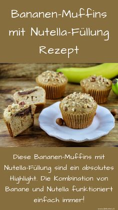 Homemade Cake Recipes, Donut Recipes, Baking Recipes, Healthy Breakfast Muffins, Egg Recipes For Breakfast, Food And Drink Quiz, Cake Mix Muffins, Easy Desserts, Dessert Recipes