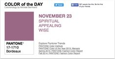 APPart – Mobile Art – Pantone Color of the Day – 'Bordeaux' – TheAppWhisperer