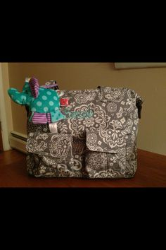 Casual Cargo Purse, diaper bag for baby shower gift