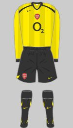 2005-2006 Arsenal Kit