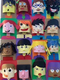 Art Drawing For Kids Kunstzeichnung Für Kinder / - Gift Ideas Unique Kids Crafts, Preschool Crafts, Arts And Crafts, Paper Crafts, Frog Crafts, Art Drawings For Kids, Drawing For Kids, Art For Kids, Portraits For Kids