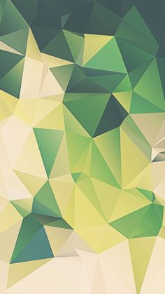 green-Polygon-iphone-6-background