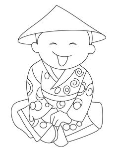 Happy Chinese New Year coloring page