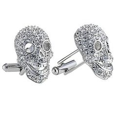 b7c06ecf1 Men's Cufflinks - Men's Jewellery & Gifts - Ernest Jones. Simon Carter  men's crystal ...