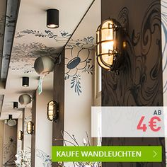 Last Minute Deals - Wandleuchten. #wandleuchten #wandlampe #innenbeleuchtung #aktion #rabatt