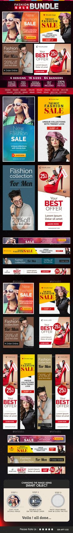 Fashion Banners Bundle - 4 Sets Template PSD | Buy and Download: http://graphicriver.net/item/fashion-banners-bundle-4-sets/9197704?WT.oss_phrase=&WT.oss_rank=3&WT.z_author=doto&WT.ac=search_thumb&ref=ksioks