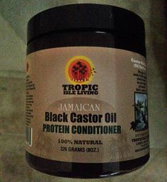 Jamaican Black Castor Oil Protein Hair Conditioner   Deep Conditioned - Ingredients: Mayonnaise, Jamaican Black Castor Oil, Vitamin E, Avocado Oil, Mustard Oil, Grapeseed Oil, Lavender, Pimento Oil