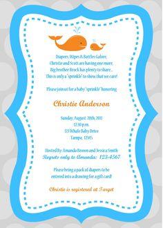 Invitation Wording For Baby Shower Boy