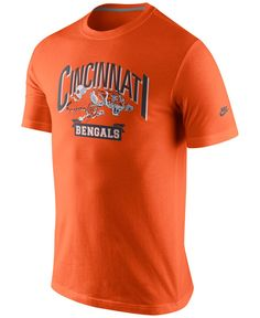 Nike Men's Short-Sleeve Cincinnati Bengals Rewind Lock Up T-Shirt